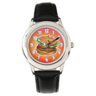 漫画のハンバーガーの腕時計 腕時計