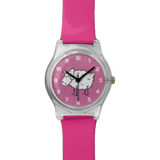 漫画のヒツジ 腕時計