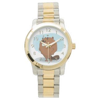 漫画のビーバー 腕時計