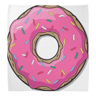 漫画のピンクドーナツはとの振りかけます バンダナ