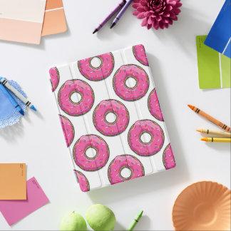漫画のピンクドーナツはとの振りかけます iPadスマートカバー