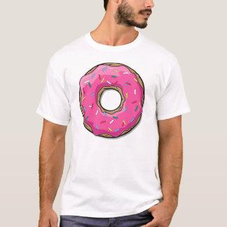 漫画のピンクドーナツはとの振りかけます Tシャツ