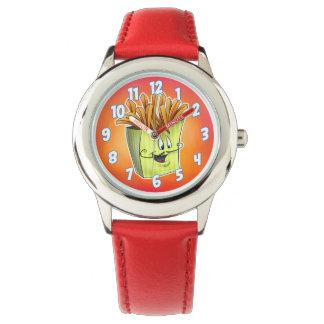 漫画のフライドポテトの腕時計 腕時計