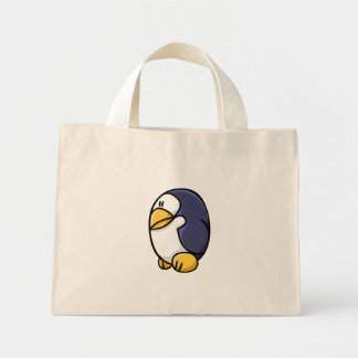 漫画のペンギン ミニトートバッグ