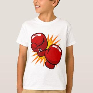 漫画のボクシンググラブ Tシャツ