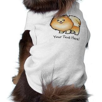 漫画のポメラニア犬 ペット服