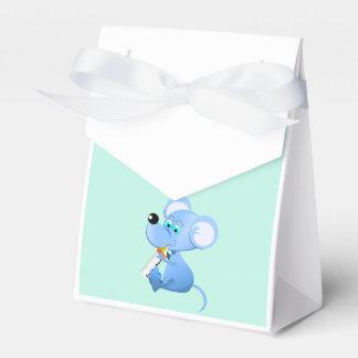 漫画のマウスの男の子のテントの好意箱 フェイバーボックス