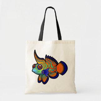 漫画のマンダリン/Dragonetの魚 トートバッグ