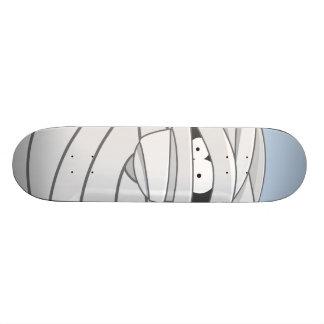 漫画のミイラのハロウィンの気色悪いスケートボード 18.7CM ミニスケートボードデッキ