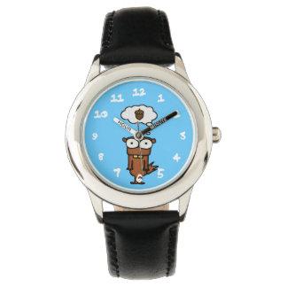 漫画のリス 腕時計