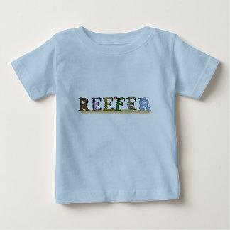 漫画のリーファーのベビーのTシャツ ベビーTシャツ