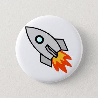 漫画のロケットの船 缶バッジ