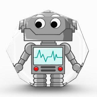 漫画のロボット 表彰盾