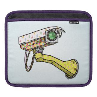 漫画の保安用カメラ iPadスリーブ