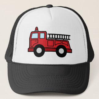 漫画の切り貼り芸術の普通消防車緊急車のトラック キャップ