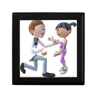 漫画の医者および患者 ギフトボックス
