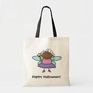 漫画の妖精のカスタマイズ可能なトリック・オア・トリートのバッグ トートバッグ