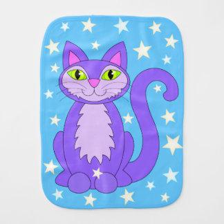 漫画の子猫の宇宙星微笑猫の青 バープクロス