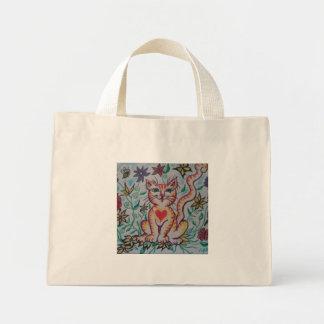 漫画の子猫 ミニトートバッグ