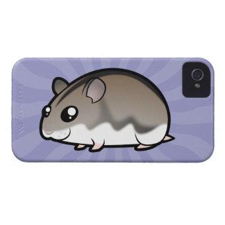 漫画の小型ハムスター Case-Mate iPhone 4 ケース