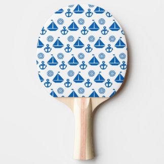 漫画の帆ボートパターン 卓球ラケット