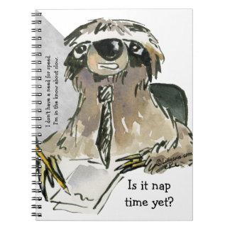 漫画の怠惰の昼寝の時間 ノートブック