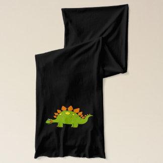 漫画の恐竜のステゴサウルス スカーフ