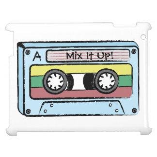 漫画の手描きのカセットテープ(組合せそれ) iPadカバー