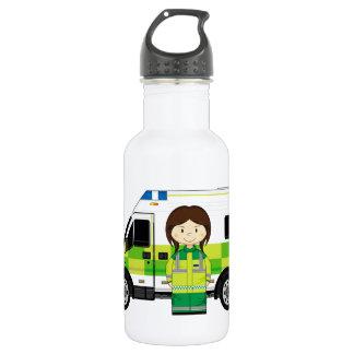 漫画の救急車およびEMT ウォーターボトル