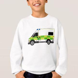 漫画の救急車 スウェットシャツ