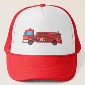 漫画の普通消防車かエンジン キャップ