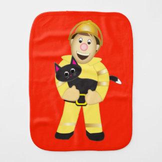 漫画の消防士のバープクロス バープクロス