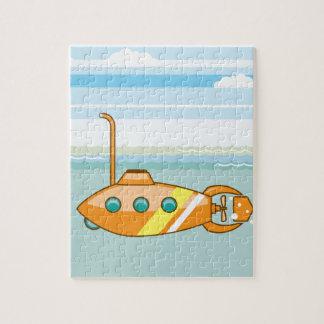 漫画の潜水艦 ジグソーパズル
