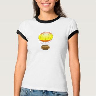 漫画の熱気のブランデーグラス Tシャツ