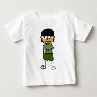漫画の男の子 ベビーTシャツ