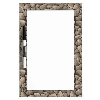 漫画の石造りの質 ホワイトボード