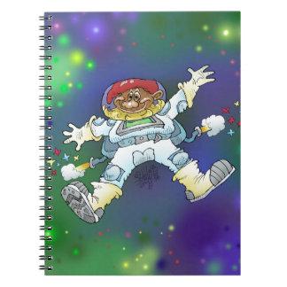漫画の絵、宇宙の格言の、ノート ノートブック
