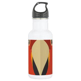 漫画の野生のオウム ウォーターボトル