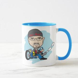 漫画の風刺漫画 マグカップ