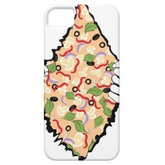 漫画の風味がよいピザおよびHands4 iPhone SE/5/5s ケース