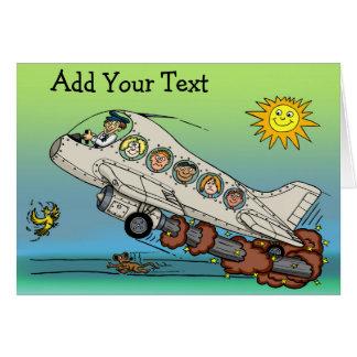 漫画の飛行機 カード