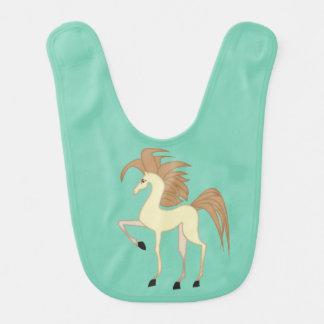 漫画の馬のよだれかけ ベビービブ