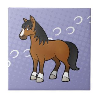 漫画の馬 タイル