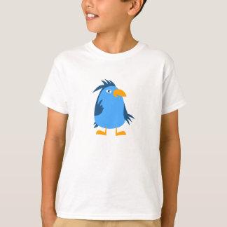 漫画の鳥-子供のTシャツ Tシャツ