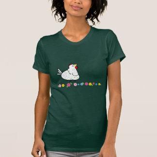 漫画の鶏のTシャツ Tシャツ
