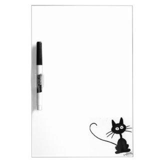 漫画の黒猫 ホワイトボード
