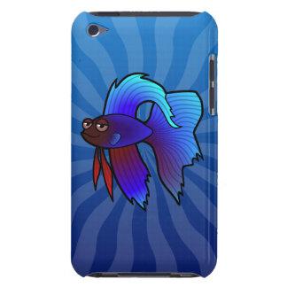 漫画のBettaの魚/シャムの戦いの魚 Case-Mate iPod Touch ケース