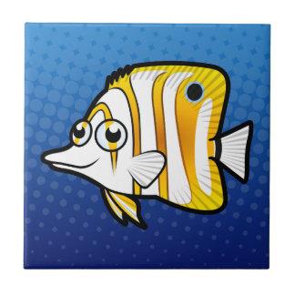 漫画のButterflyfish タイル