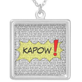 漫画はKAPOWを話します! ペンダント