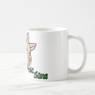 漫画をSans、Helveticaウンチ食べます コーヒーマグカップ